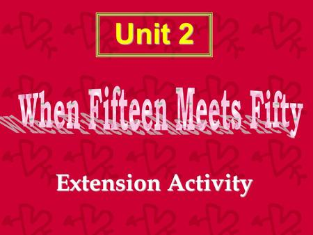 Unit 2 Extension Activity Please help me! Ting-Ting is a 16-year-old girl who spends a lot of time being online every day. But sometimes she has problems.