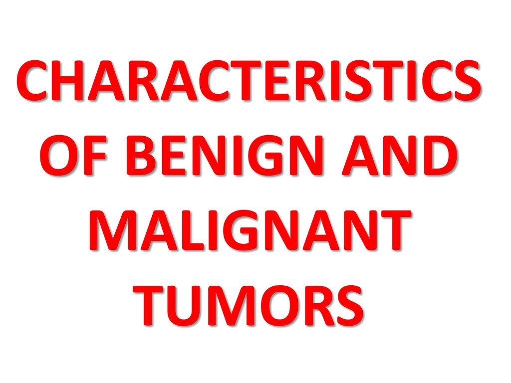 benign cancer ppt