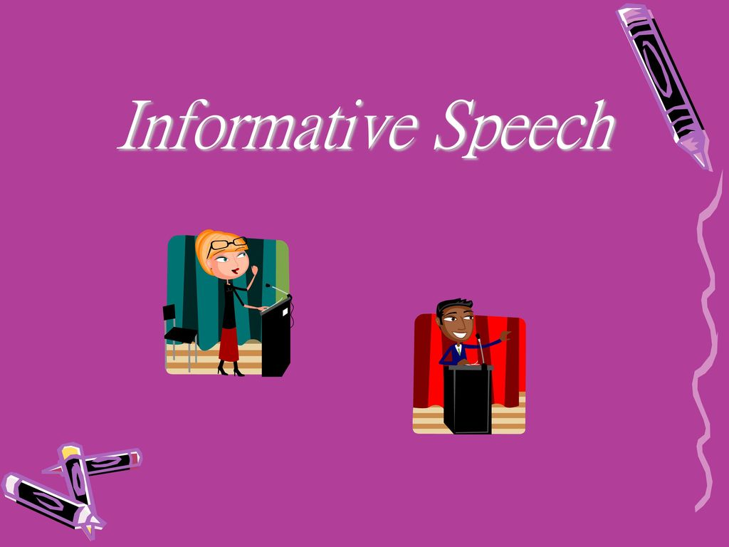 Informative Speech. - ppt download