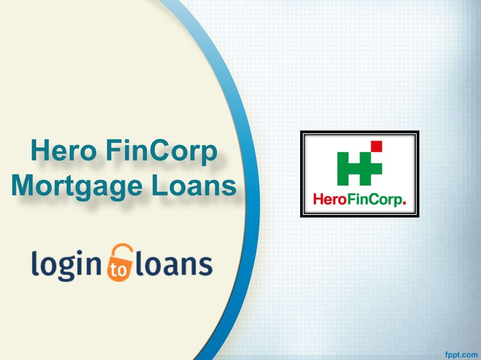 Hero Fincorp Mortgage Loans Hero Fincorp Mortgage Loans Ppt Download Hd wallpaper hero fincorp logo