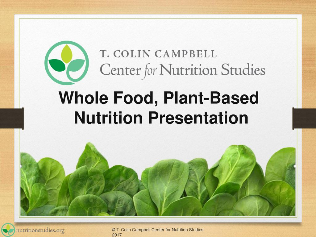 plant based diet ppt