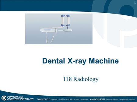 Dental X-ray Machine 118 Radiology.
