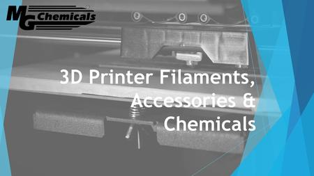 3D Printer Filaments, Accessories & Chemicals. 3D printing What is 3D printing and how does it work? What are the different methods for 3D printing? What.