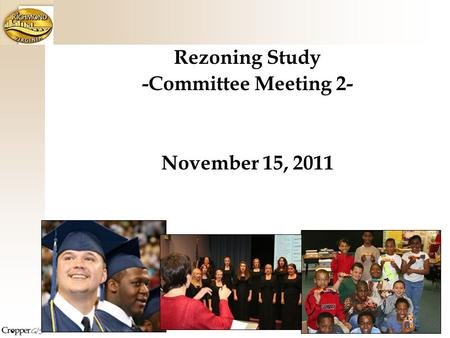 Rezoning Study -Committee Meeting 2- November 15, 2011.