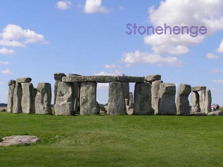 Stonehenge is one of the most popular prehistoric monuments in Europe. It is located in Wiltshire, England. There are many ideas about how this monument.