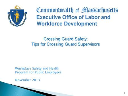 Massachusetts Department of Labor Standards