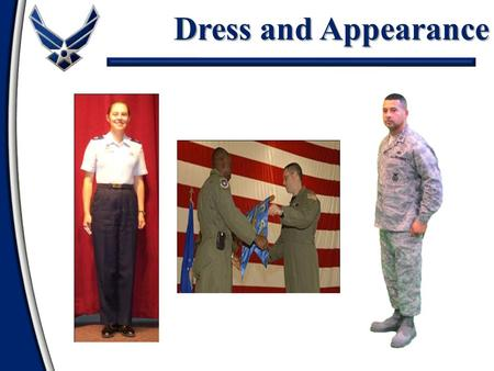 army dress and appearance