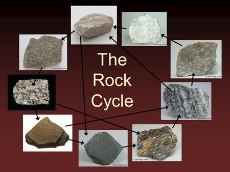 The Rock Cycle. Rock cycle metamorphic rocks igneous rocks sedimentary rocks important to note rock types, processes, intermediary states, and shortcuts.