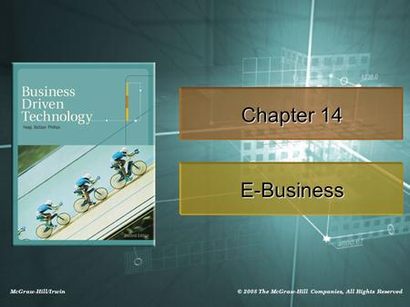 Chapter 14 E-Business.