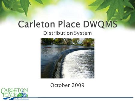 October 2009. In May 2000, Walkerton's drinking water system became contaminated with deadly bacteria, primarily Escherichia coli O157:H7.1 Seven people.
