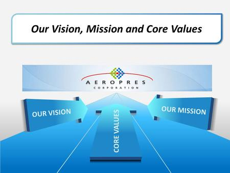 Our Vision, Mission and Core Values