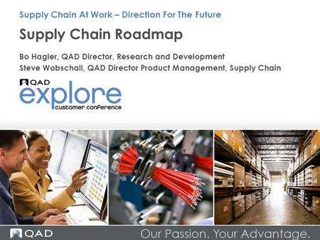 Supply Chain Roadmap Supply Chain At Work – Direction For The Future