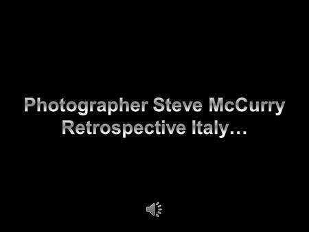 Steve McCurry has been a one of the most iconic voices in contemporary photography for more than 30 years, with scores of magazine and book covers,