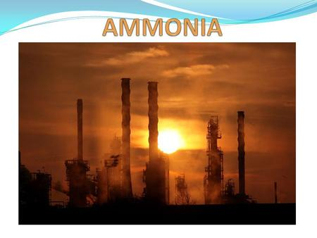 Objectives: i. Outline the steps in the manufacture of ammonia from its elements, by the Haber Process. ii. Discuss the uses of ammonia iii. Assess the.
