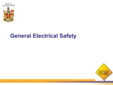 General Electrical Safety. Why is it so important to work safely with or near electricity? The electrical current in regular businesses and homes has.
