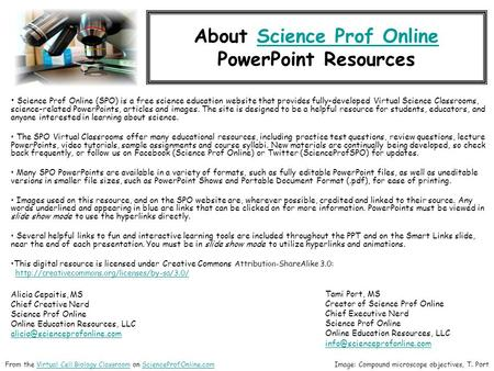 about science prof onlinescience prof online powerpoint resources science prof online spo is a