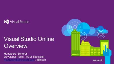 Modern Application Lifecycle Visual Studio Online journey Visual Studio Online capability Good to know.