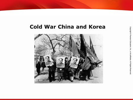 TEKS 8C: Calculate percent composition and empirical and molecular formulas. Cold War China and Korea.