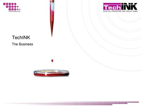 TechINK The Business. In the 1990's a group of individuals at one of South Africa's first digital printing companies were faced with a dire problem. In.