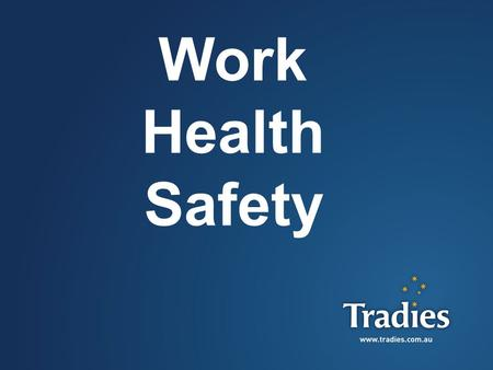 1 Work Health Safety. 2 What is WHS? The WHS Act 2011 replaced the Occupational Health and Safety Act 2000… WHS came into legislation from January 2012.