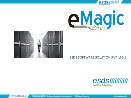 |ESDS SOFTWARE SOLUTION PVT. LTD.| Enterprise Datacenter Management Suite.