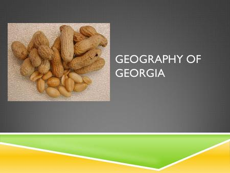 Geography of Georgia.