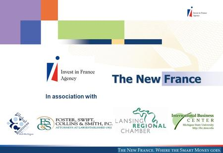 The New France In association with. 2 Who we are and what we do Head Quartered in Paris IFA operates worldwide with 28 offices in 19 countries A network.