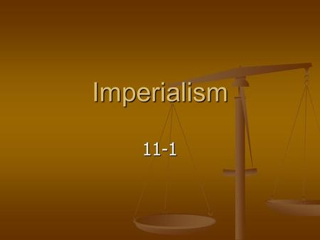 Imperialism 11-1. Africa Before Large empires - small villages divided by: Large empires - small villages divided by: Ethnic groups Ethnic groups Languages.