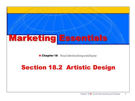 Section 18.2 Artistic Design
