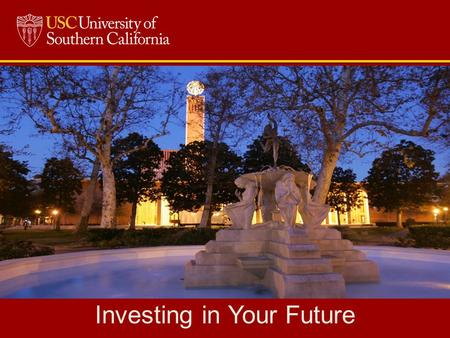 Investing in Your Future. Workshop Agenda The Financial Aid Equation The Basic Formula Types of Financial Aid Scholarships, Grants, Work-Study & Loans.