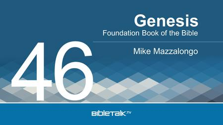 Genesis 6 4 Foundation Book of the Bible Mike Mazzalongo.
