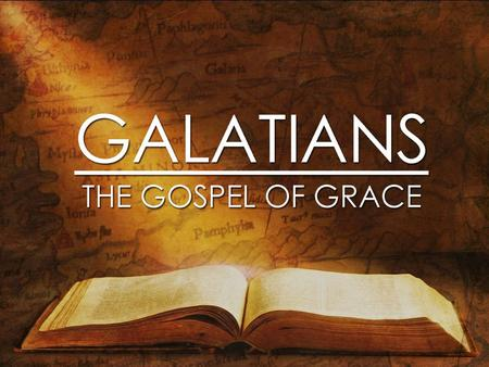 Paul: The Product Of The Gospel Galatians 1: 11-24.
