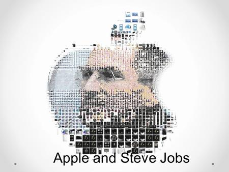 Apple and Steve Jobs. Biography of Steve Jobs His inventions His illness Synthesis & Apple today Bibliography.