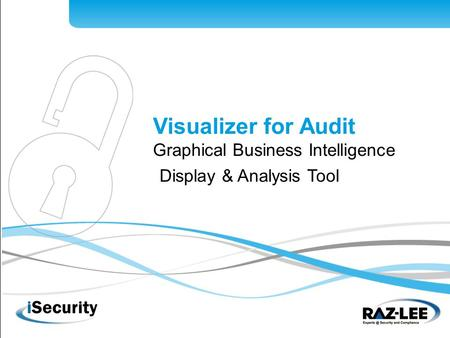 1 Visualizer for Audit Graphical Business Intelligence Display & Analysis Tool.