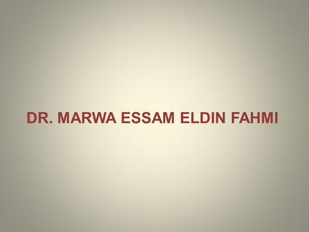 DR. MARWA ESSAM ELDIN FAHMI RULES OF PRONUNCIATION.