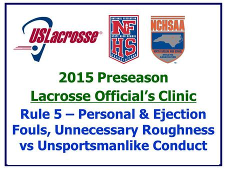 Lacrosse Official's Clinic