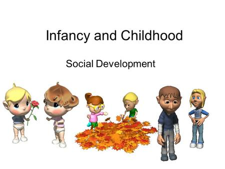 Infancy and Childhood Social Development. Stranger Anxiety The fear of strangers that infants commonly display, beginning by about 8 months of age.