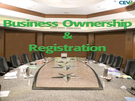 1. 1.To examine the steps to the process of becoming a business owner. 2.To differentiate the various types of business ownership. 3.To illustrate the.