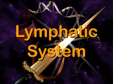 Lymphatic System.