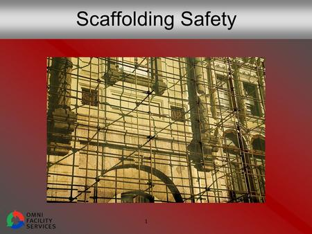 1 Scaffolding Safety. 2 The Cost of Poor Scaffolding Safety Every year: 50 deaths 4,500 injuries 25% of injured workers had no safety training.