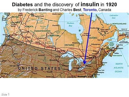 Diabetes and the discovery of insulin in 1920