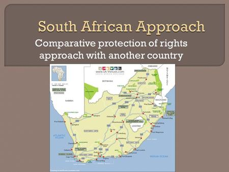 Comparative protection of rights approach with another country.