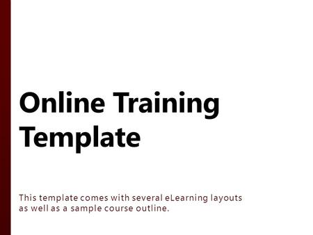 instructor led template ppt download