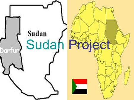 Sudan Project Causes of Darfur Problems Problem arose when Black-African citizens felt neglected by Sudan government. They took up arms under two rebel.