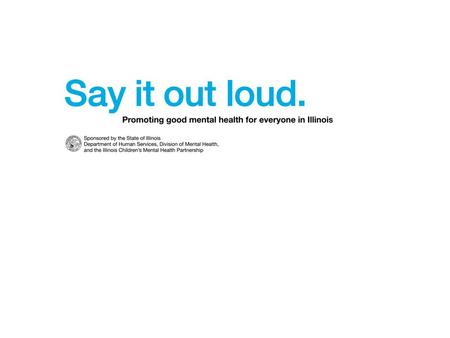Say it out loud. Why does mental health matter? Mental health is a core component of our overall health and well-being. By promoting good mental health.