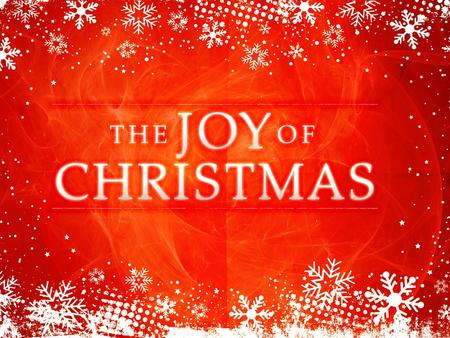 the promise of joy an angel of the lord appeared to him in a