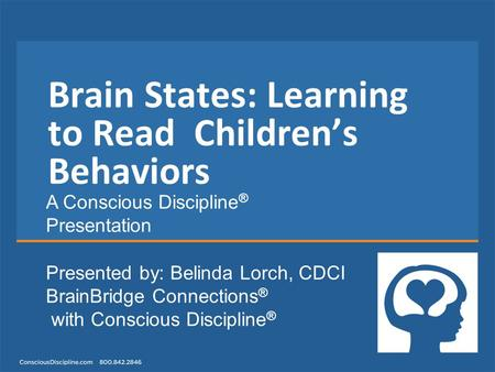 Brain States: Learning to Read Children's Behaviors