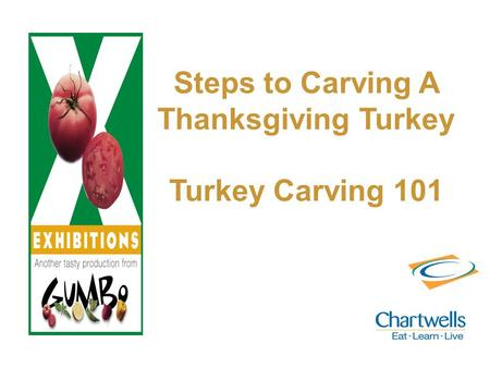 Steps to Carving A Thanksgiving Turkey Turkey Carving 101.