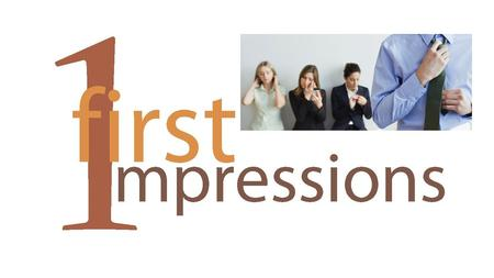 To understand the term 'first impressions' and how important these are to an employer. To identify what is appropriate for interview (clothing and behaviour).
