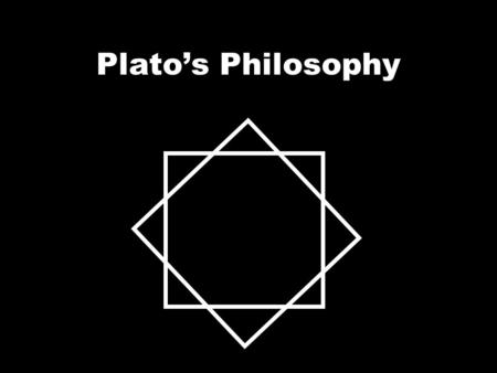 Plato's Philosophy. 4 Key Ideas Virtue is Knowledge The soul is immortal Knowledge is remembering The Forms.